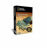 Mega Fossil Mine - Dig Up 15 Real Fossils With National Geograp... Free Shipping