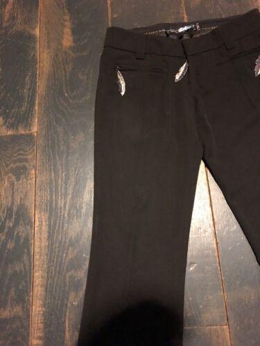 Plein 999 originale Pp pelle in € Bullet piuma S nero Couture argento Philipp Pantalone 50qaPB