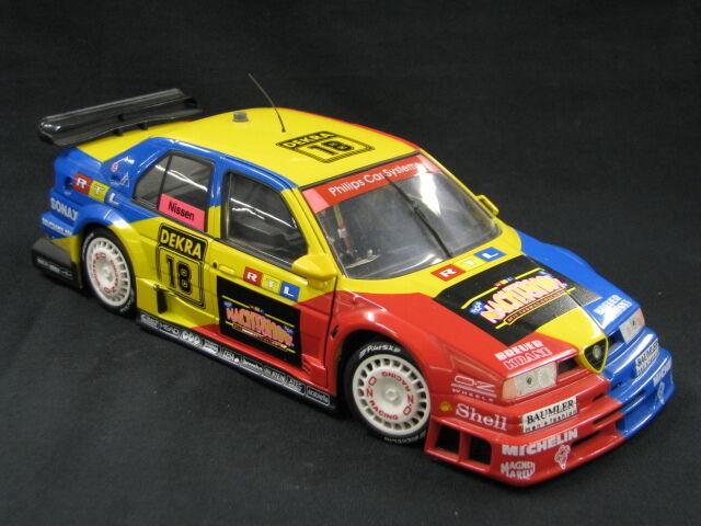 UT Models Alfa Romeo 155 V6 Ti 1995 1 18 Kris Nissen (DEN) DTM (MCC)