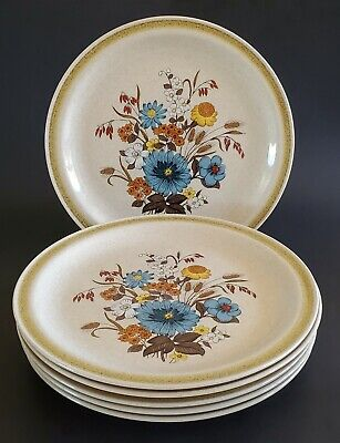 Ovensafe Salad Plate Vintage Country Living Stoneware Plate Set Japan Bread and Butter Plates Pear Tree Plate Fruit Plate