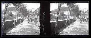 Italia-Capri-Foto-Stereo-Negativo-Placca-Da-Lente-VR12a