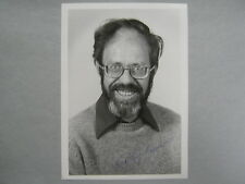 MICHAEL  ROSSMANN  Physicist/Micobiologist  Signed   5 X 7  Glossy  B & W  Photo