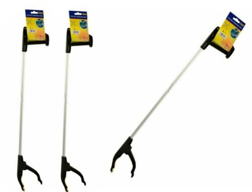 2x long litière Pick Up Extra Extension Outil Grabber Easy Reach Picker Grand