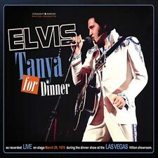 Elvis Presley - Tanya For Dinner - Digi Pk CD - New & Sealed