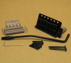 SB-5212-003 Black Tremolo for Mexican Standard Fender/Squier Import Strat