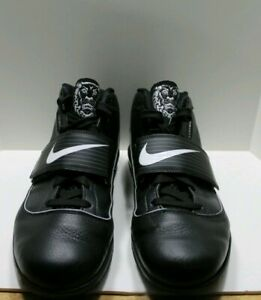 huge selection of d3b20 100ee Details about Nike Lebron James Zoom Soldier 5 Witness Black High Top Men's  read discription