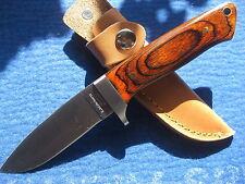 SUPER Coltello da caccia Herbertz Coltello Jagdnicker cintura coltello NUOVO 114210