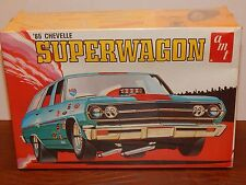 """Vintage AMT 1965 Chevy Chevelle """"Superwagon"""" 3 in 1 Station Wagon Kit  (Lot# 43)"""