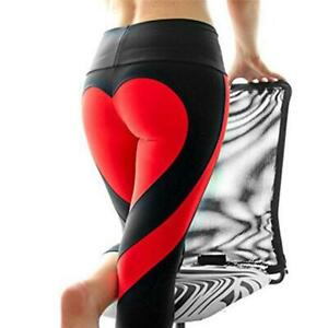 Shaping Sportlegging.Women Sexy Back Heart Shape Stretch Workout Yoga Sport Legging