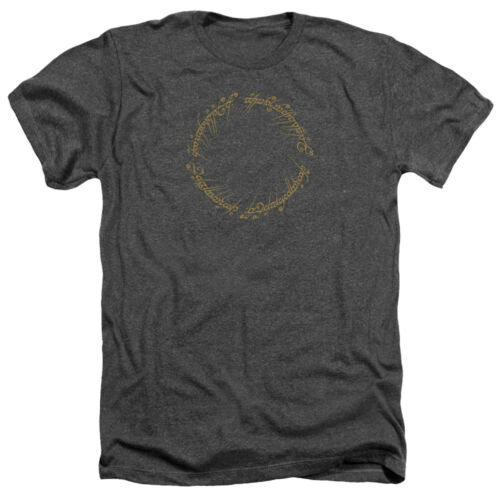 Lord of the Rings ONE RING to Rule Them All Adult Heather T-Shirt All Sizes