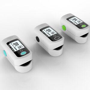 Fingertip Pulse Oximeter Cardiometer Heart Rate Blood Pressure SpO2 Monitor