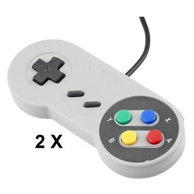 Controlador USB Super Nintendo SNES Game Pad para PC Raspberry Pi 3 RetropieSC
