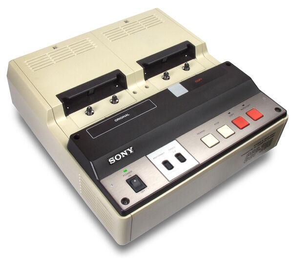 SONY CCP-200RF D Standard Cassette Reformatter Duplicator