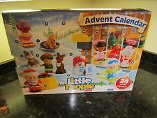 Fisher Price Little People Advent Calendar Christmas NEW box Santa Claus Mrs.