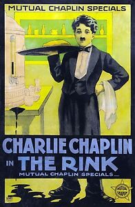 3517.Charles Charlie Chaplin silent movie film POSTER.School Home Art decor