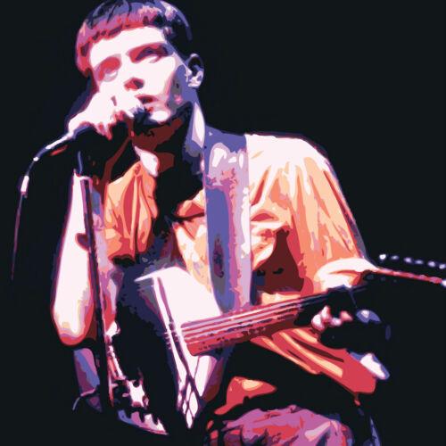 Ian Curtis-Joy Division-Música icono Impreso Sobre Lienzo-Impresionante Enmarcado Arte De Pared