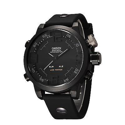 eYotto Men's Sports Wrist Watch Waterproof LED Military Digital Analog for...