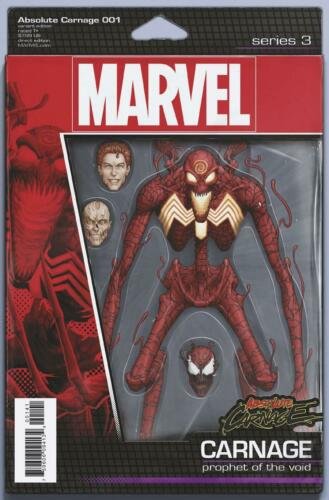 ABSOLUTE  CARNAGE #1 ACTION FIGURE VAR  MARVEL COMICS  2019 STOCK IMG