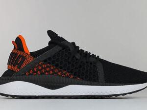 Puma Tsugi Netfit Sneaker Uomo 364629 BLACK SCARLET IBIS W