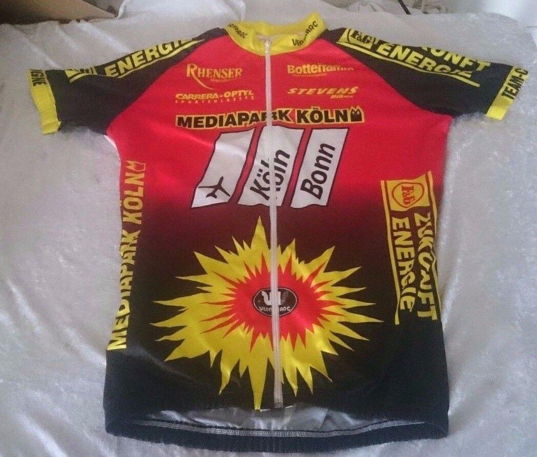 NWOT Vermarc  Energie Mediapark Koln Botterramm Stevens Rhenser Jersey Cycling  lightning delivery