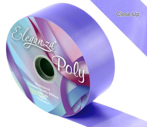 "2/"" Poly Florist Wedding Car Ribbon and Bows 50mm"