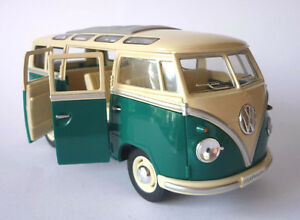 Image Is Loading VW Camper Van Bus 17cm 1 24 Scale