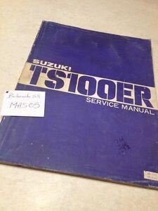 suzuki ds 100 manual