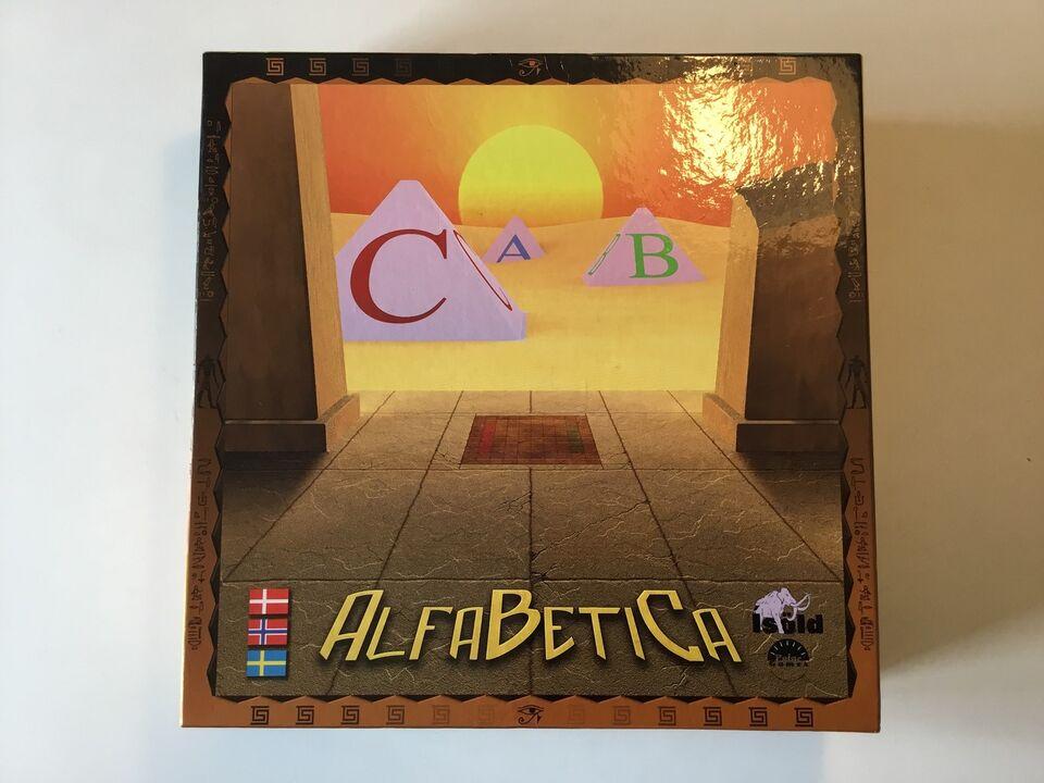 Alfabetica, Bogstav spil, brætspil