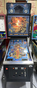Dungeons-amp-Dragons-pinball-Machine-By-Bally-1987-Original-Coin-Op-Free-Shipping