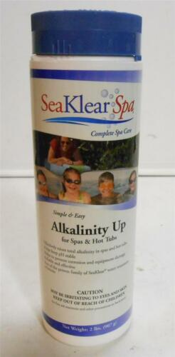 19M9 NOS SEAKLEAR ALKALINITY UP FOR SPAS /& HOT TUBS 2 LBS