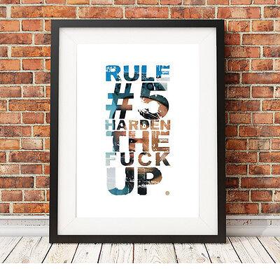 Franco Eddy Merckx Ciclismo ❤ ❤ Regola 5 Poster Stampa In Edizione Limitata 5 Taglie #12 Retrò- Alta Sicurezza