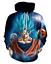 New Fashion Women//Men Anime Dragonball Z 3D Print Casual Hoodies Sweatshirt TR49