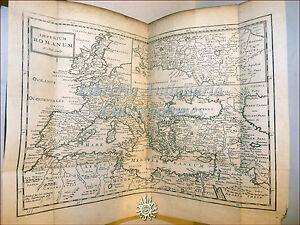 Danet-COMPLETE-Diccionario-de-griego-and-ROMAN-ANTIGUEDADES-1700-London-2-mapas