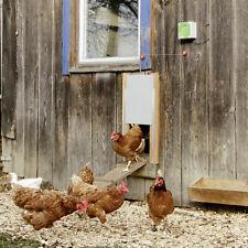 Automatische Hühnertür Hühnerklappe Stallöffner Hühnerstall Hühner Pförtner Türe