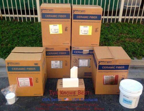 "6 Pack K-23 Insulating Firebrick 9 x 4.5 x1/""  Thermal Ceramic Fire Bricks SIX"