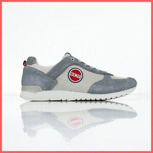 Dettagli su COLMAR ORIGINALS scarpe uomo TRAVIS CHROME 036 col. GRIGIO CHIARO estate 2019