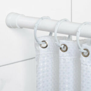 """Lots 27/""""-47/"""" Adjustable Spring Tension Shower Curtain Rod Extendable Rust Proof"""