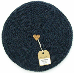 26e42a155b8 Image is loading Hand-Knitted-Ladies-BERET-Hat-Alpaca-Wool-Assorted-