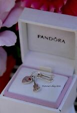 Authentic Pandora Sterling Silver I Love Music Pendant/Charm 791504EN09