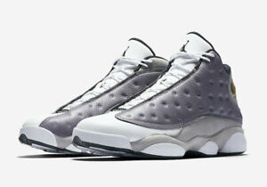 new style 97641 ba78c Details about Nike Air Jordan Retro XIII 13 Atmosphere Grey Size 10-14  Black White 414571-016