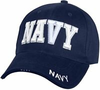 Navy Deluxe Low Profile Cap Navy Baseball Hat 100% Cotton 9393 Rothco