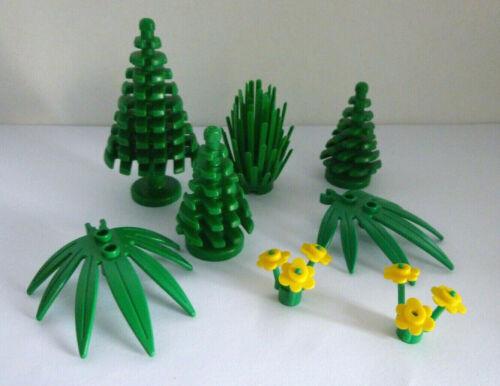 1 x LEGO® Konvolut Baum,Bäume,Pflanzen,Blumen,Blätter,gelb wie auf dem Foto..