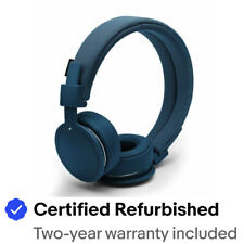 Urbanears Plattan ADV Wireless On-Ear Bluetooth Headphones, Indigo (4091101)