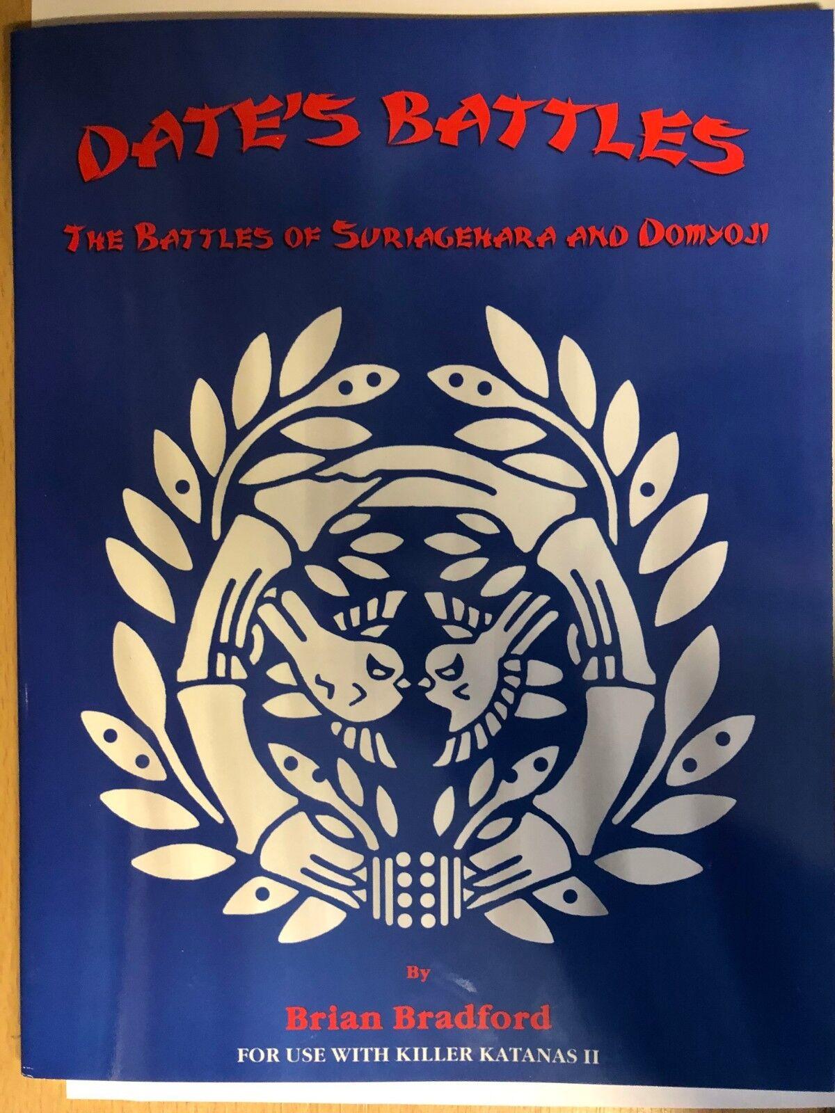 DATE'S Batallas - las Batallas de Suriagehara Suriagehara Suriagehara y Domyoji - Killer Katanas II c740f6