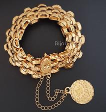Gold Armband 22 Karat GP Türkisches Kuyumcu Modell Altin Tugra Bilezik Bileklik