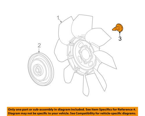 GM OEM Cooling Fan-Fan Blade Bolt 11516869