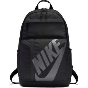 Nike-Elemental-Rucksack-Backpack-Unisex-Sportswear-Sport-School-Bag-Gym-Black