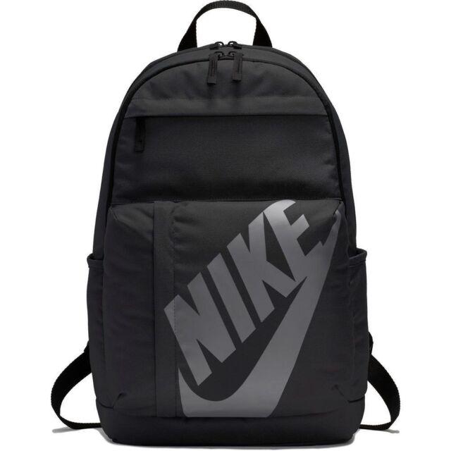 Nike Elemental Rucksack Backpack Unisex Sportswear Sport School Bag Gym  Black 0dc0104f18c77