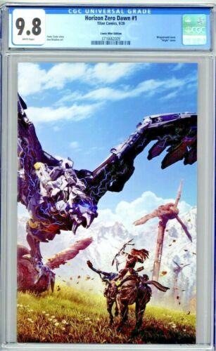 Horizon Zero Dawn #1 CGC 9.8 Comic Mint Edition Virgin Wraparound Cover Variant
