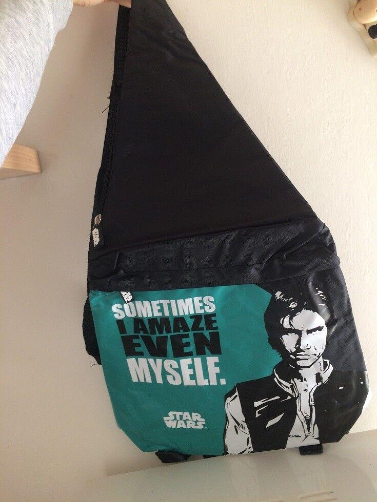Star WARS MANIA 17 Backpack Shoulder Han Solo Edition Panorama deagostini